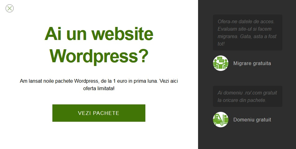 gazduire wordpress mxhost